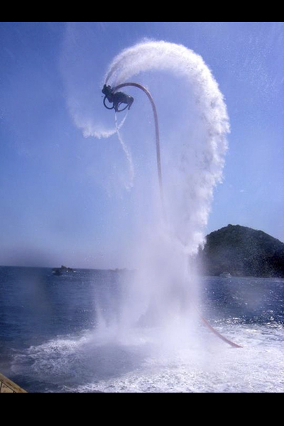 fly board per eventi