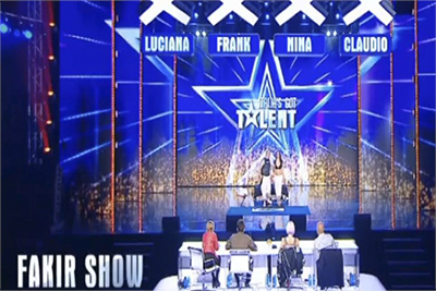italias got talent fuoco