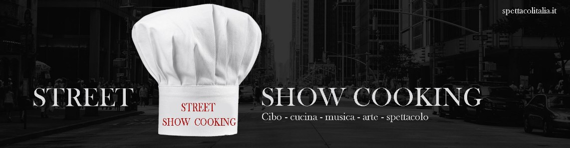Street show cooking